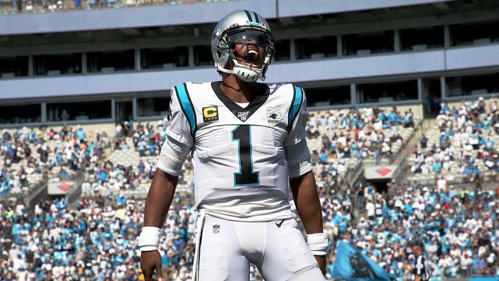 Cam Newton stellte bei den Panthers zahlreiche Franchise-Rekorde auf - Bildquelle: Getty Images