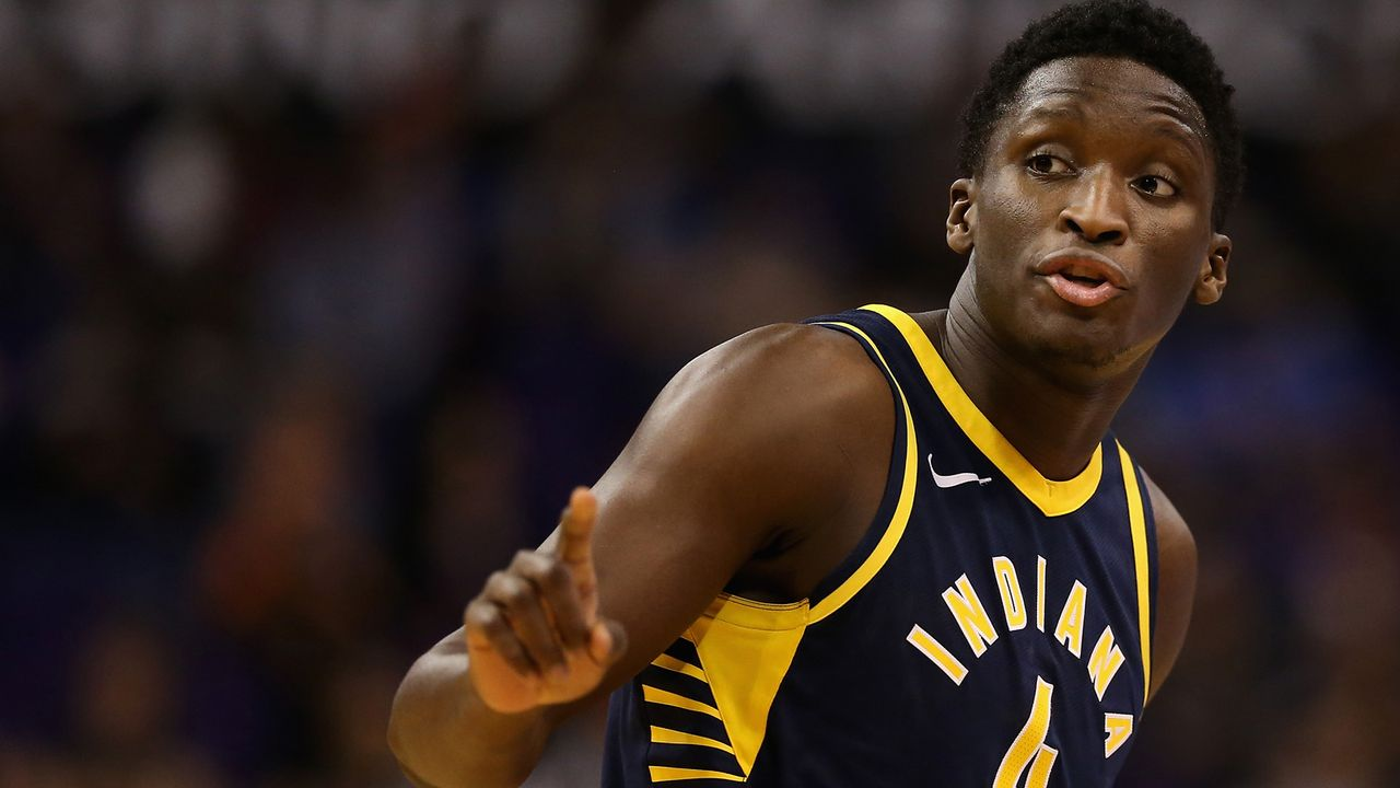 Victor Oladipo (Indiana Pacers) - Bildquelle: 2018 Getty Images