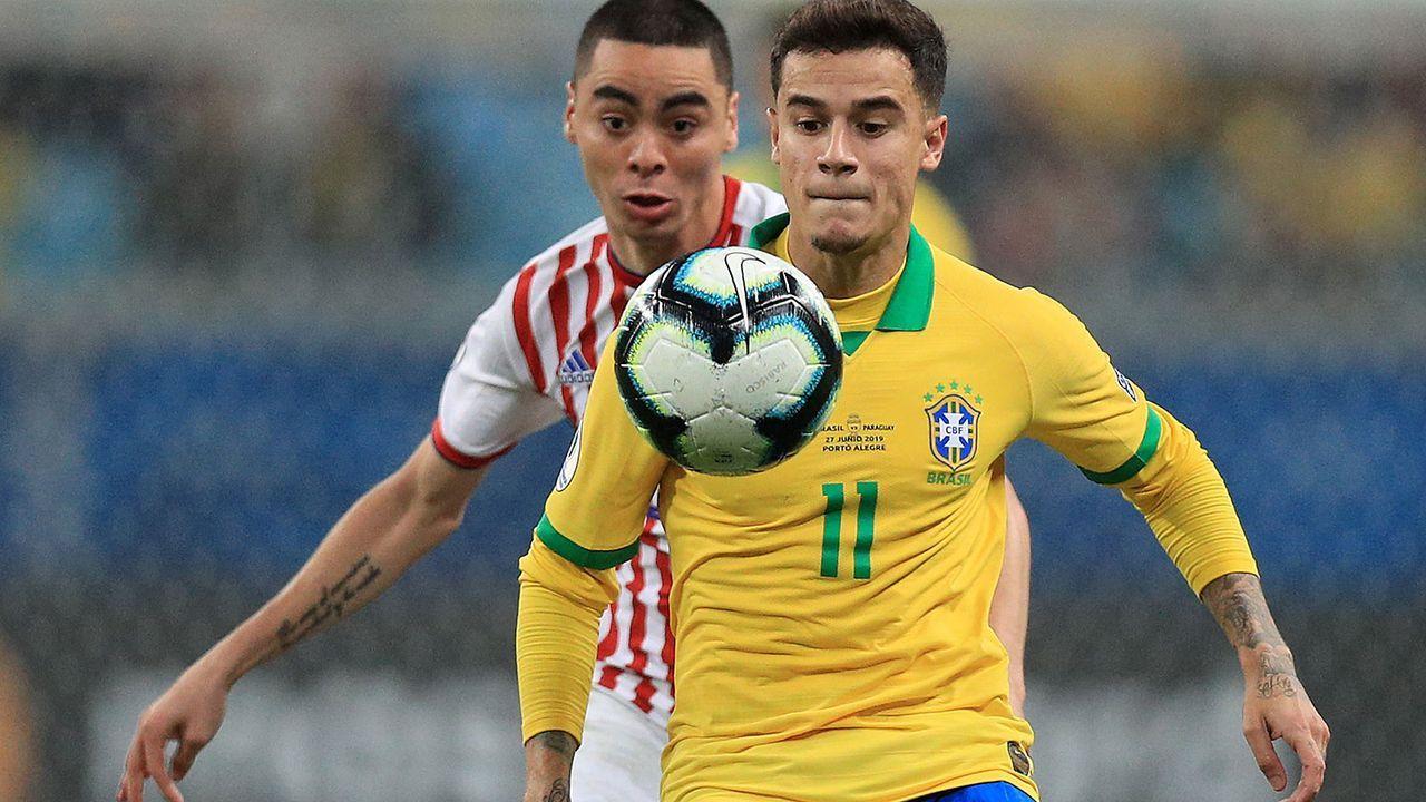 Auch Nationaltrainer adelt Philippe Coutinho - Bildquelle: 2019 Getty Images