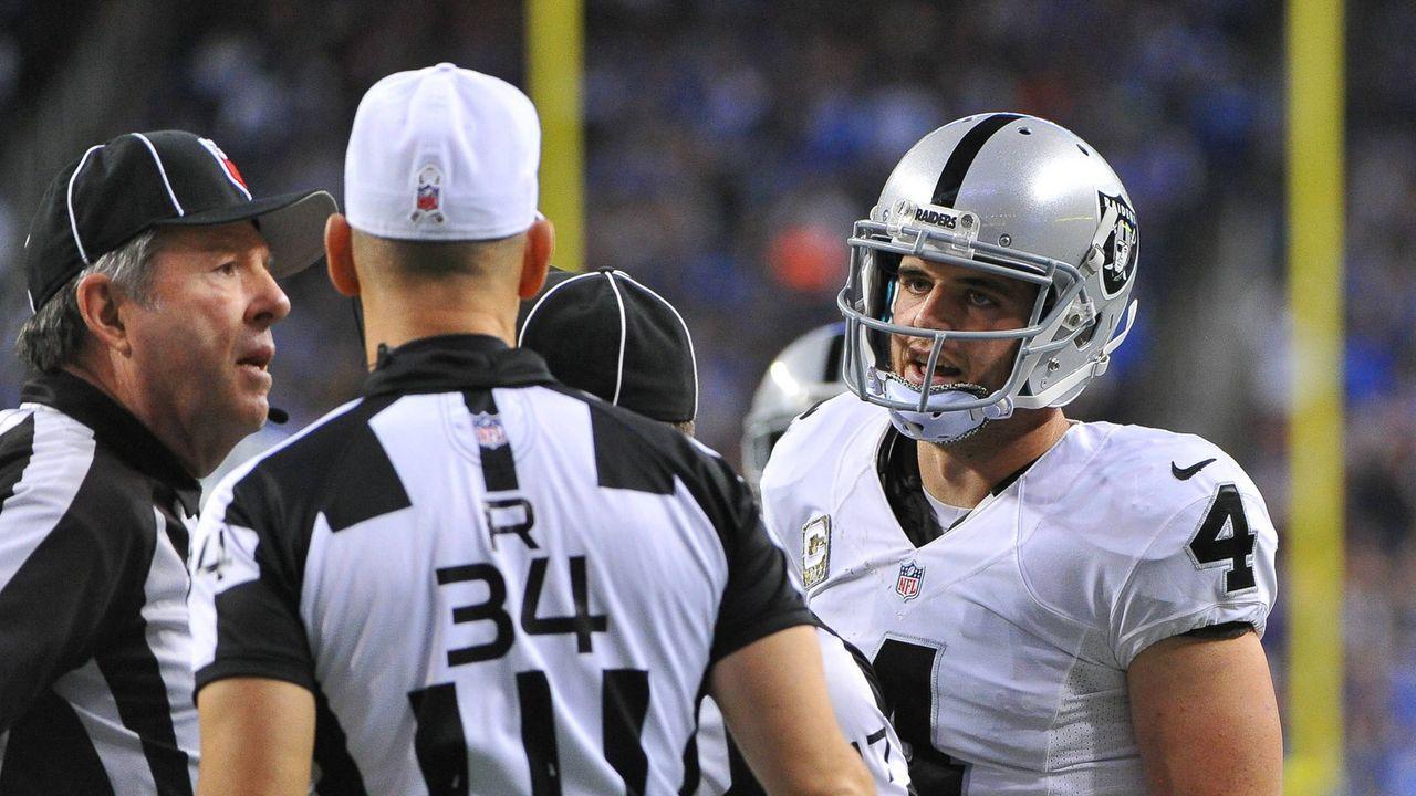 Platz 10: Oakland Raiders - Bildquelle: 2016 Getty Images