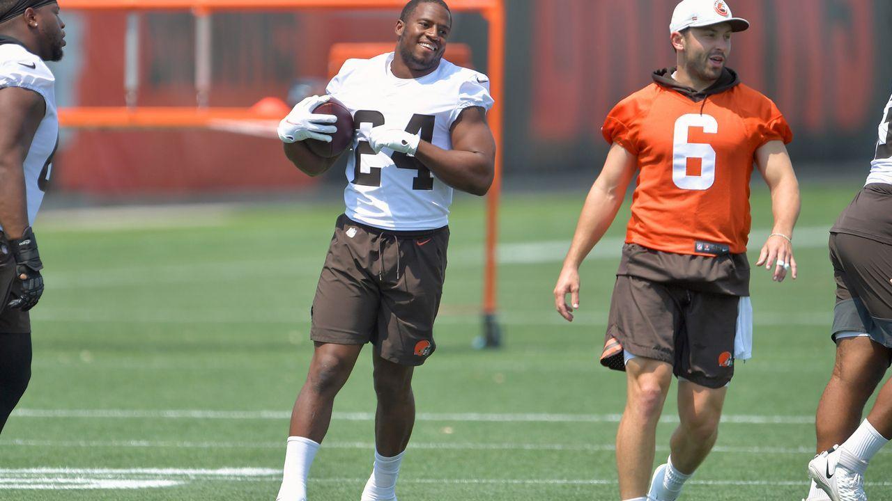 Nick Chubb (Cleveland Browns) - Bildquelle: 2021 Getty Images