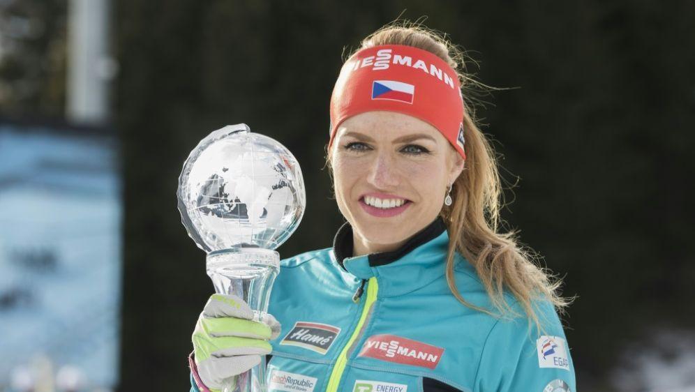 Gabriela Koukalova holte 2017 WM-Gold im Sprint - Bildquelle: AFPNTB ScanpixSIDBERIT ROALD