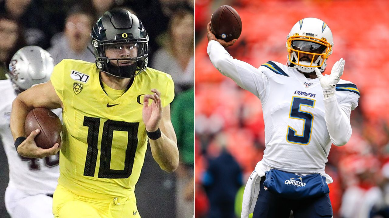Tyrod Taylor vs. Justin Herbert (Los Angeles Chargers) - Bildquelle: getty