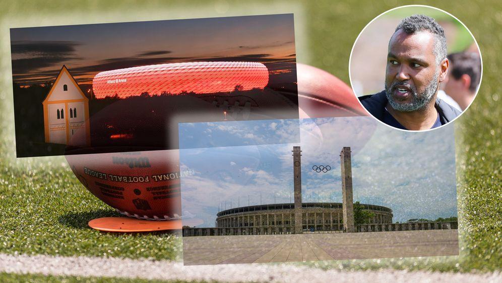 ranNFL-Experte Patrick Esume hält München und Berlin für geeignete Austragun... - Bildquelle: Imago Images