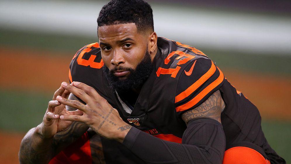 Verletzt durch die Jubiläumssaison: Odell Beckham jr. spielt laut NFL-Inside... - Bildquelle: Getty Images