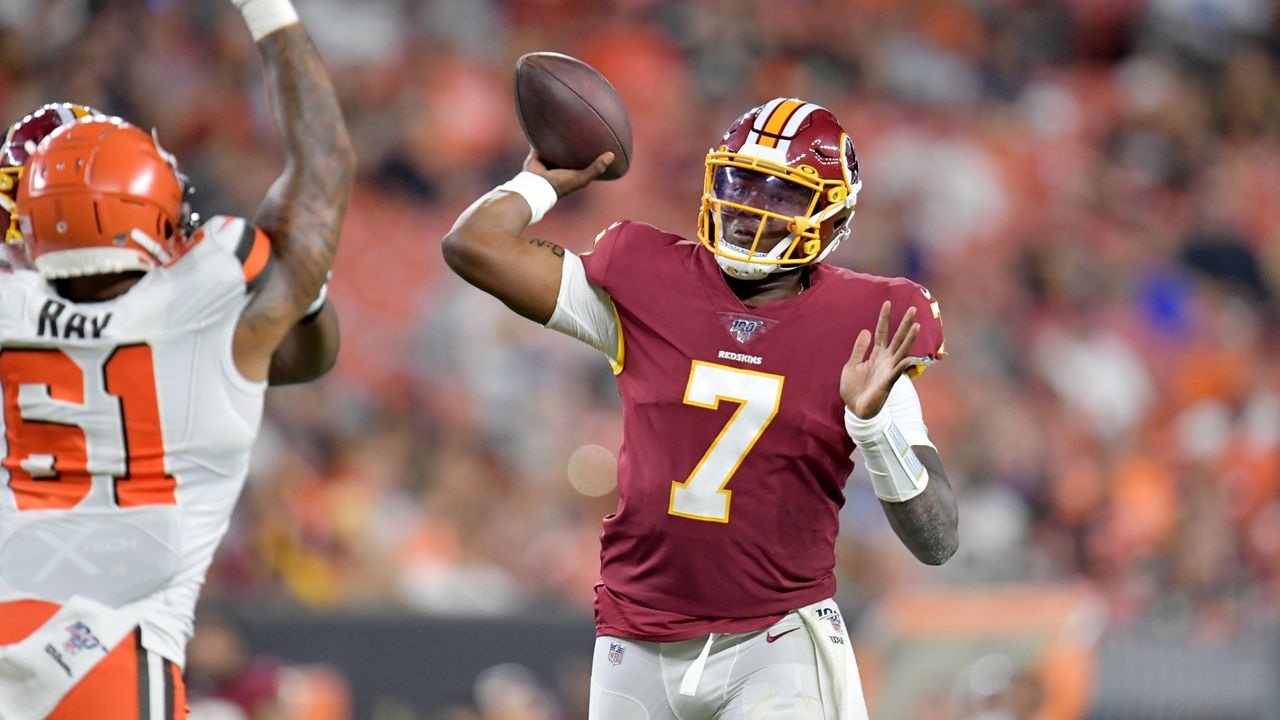 Dwayne Haskins (Washington Redskins) - Bildquelle: 2019 Getty Images