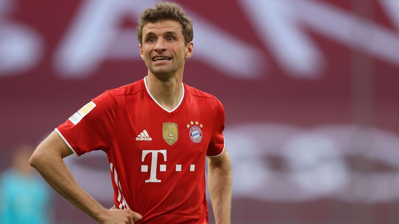 Mittelfeld: Thomas Müller (FC Bayern München) - Bildquelle: 2021 Getty Images