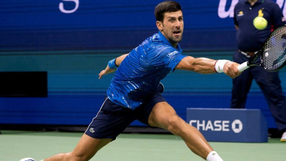 Verletzte sich bei den US-Open an der Schulter: Djokovic - Bildquelle: AFPAFPDon Emmert