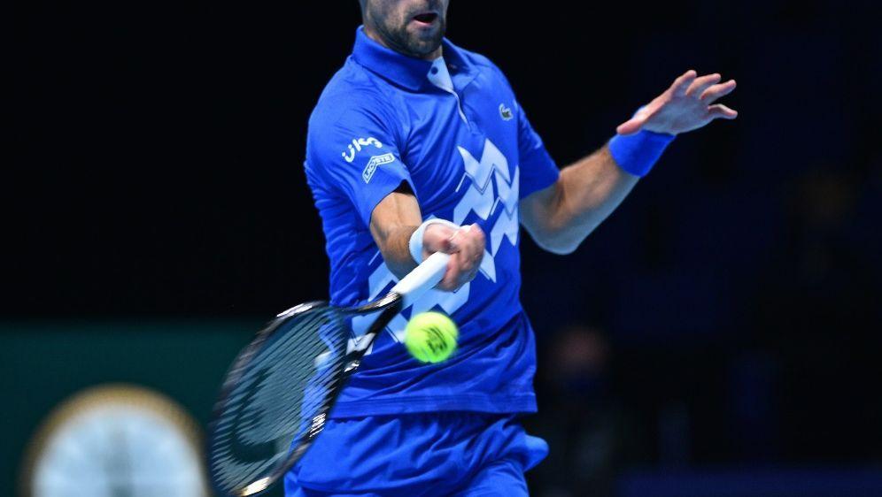 Djokovic gewann sein Auftaktmatch gegen Schwartzman - Bildquelle: AFPSIDGLYN KIRK