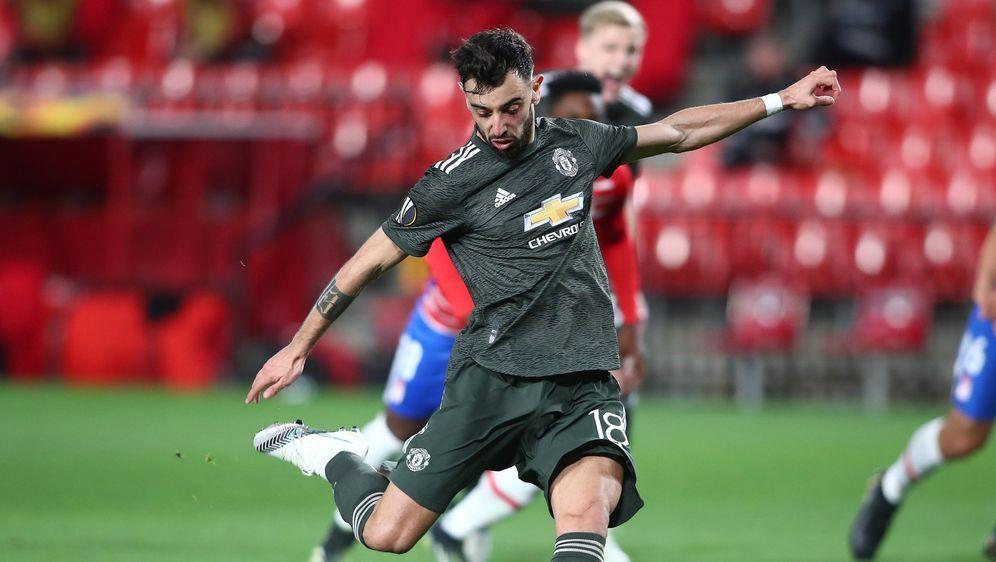 Bruno Fernandes war maßgeblich am Sieg von Manchester United beteiligt - Bildquelle: Getty