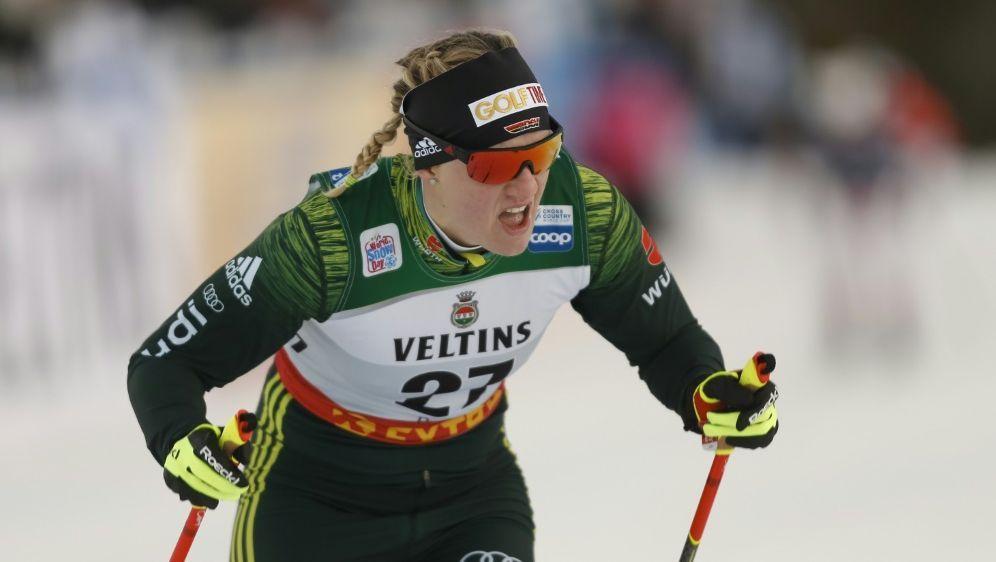 Verpasste das Teamsprint-Finale: Victoria Carl - Bildquelle: PIXATHLONPIXATHLONSID