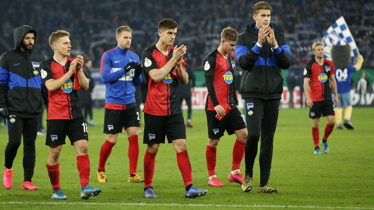 Platz 10 - Hertha BSC - Bildquelle: imago images/Contrast