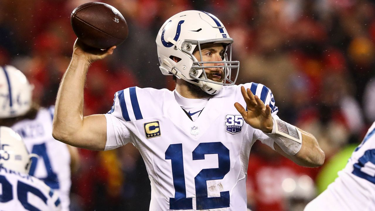 Comeback Player of the Year: Andrew Luck - Bildquelle: 2019 Getty Images