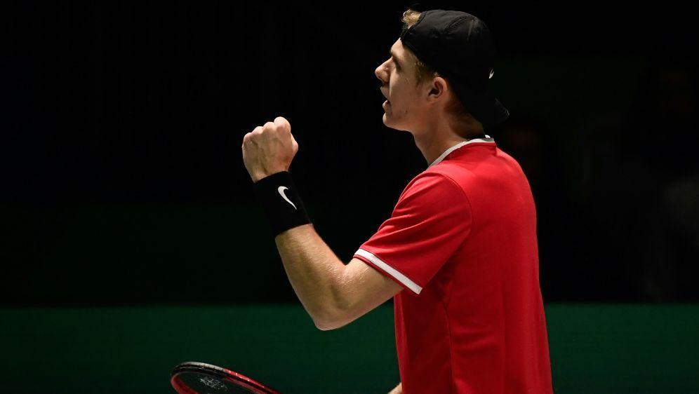 Denis Shapovalov mit Kanada im Viertelfinale - Bildquelle: AFPSIDJAVIER SORIANO