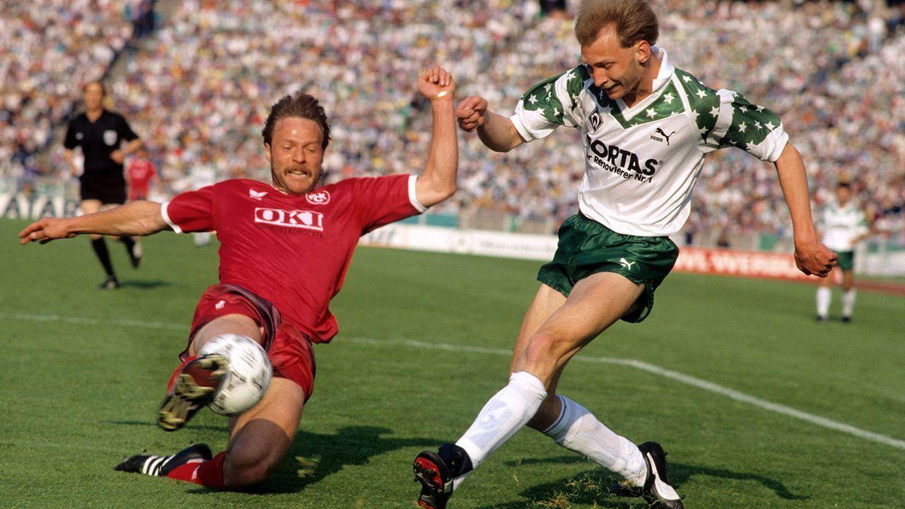 Saison 1990/91 - Bildquelle: imago sportfotodienst