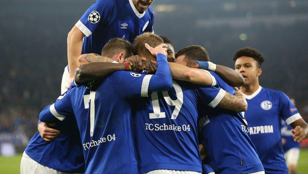 Burgstaller und Uth schoßen am Mittwoch Schalke in der Champions League zum ... - Bildquelle: FIROFIROSID